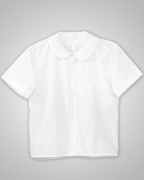 HFS Girl's Short Sleeve Peter Pan Collar