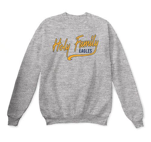 Holy Family Eagles Youth Spirit Crewneck Sweatshirt (HFS-18000B)