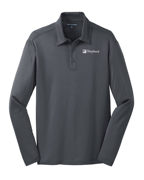 PA Men's L/S Silk Touch Performance Polo (S-K540LS)