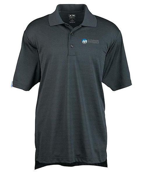 Adidas Men's Climalite Textured SS Polo (API-A161)