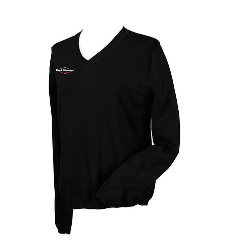 Devon & Jones Ladies' V-Neck Sweater (BD - D475W)