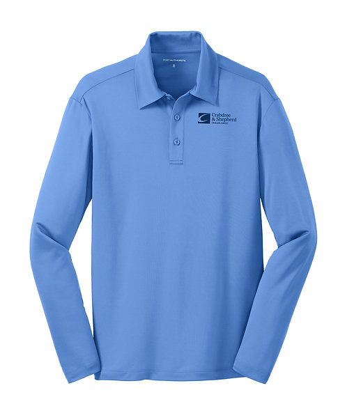 PA Men's L/S Silk Touch Performance Polo (C-K540LS)