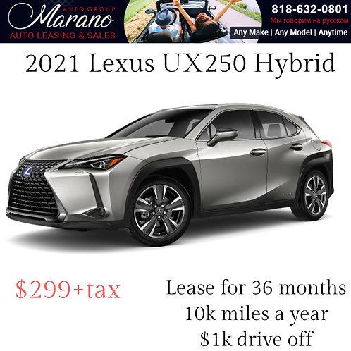 2021 Lexus UX250