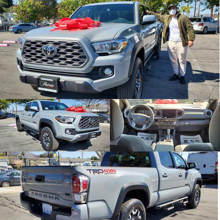 2021 Toyota Tacoma TRD off Road 4×4