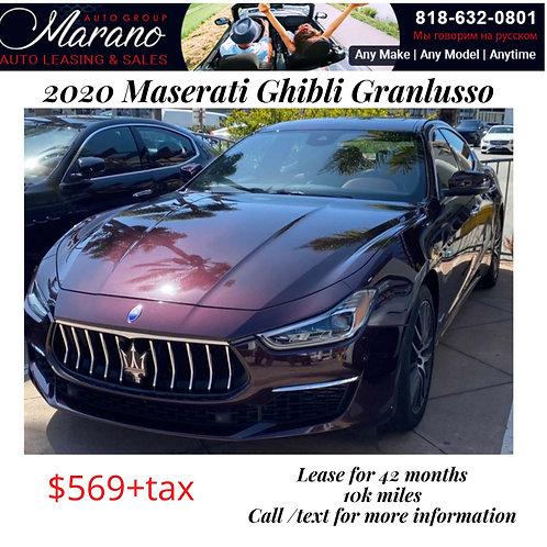 2020 Maserati Ghibli Granlusso