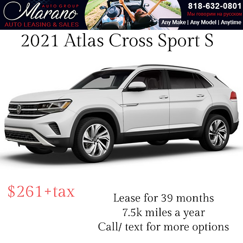 2021 Volkswagen Atlas Cross Sport S