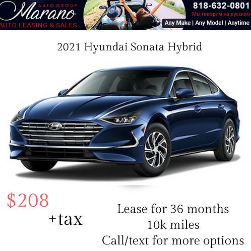 2021 Hyundai Sonata Hybrid SE