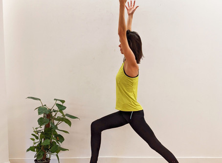Warrior 1 Pose: Virabhadrasana I