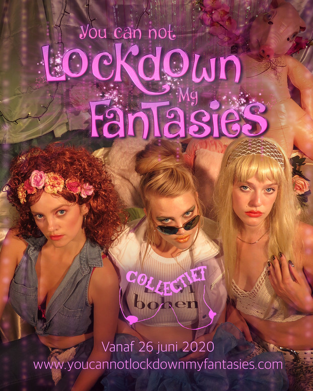 You can not lockdown my fantasies