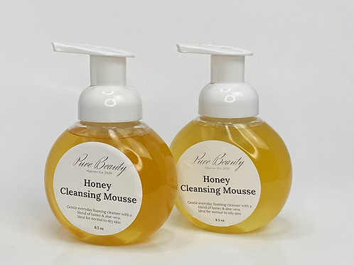 Honey Cleansing Mousse