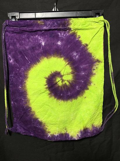 Spiral Drawstring Backpack