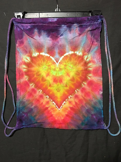 Heart Drawstring Backpack