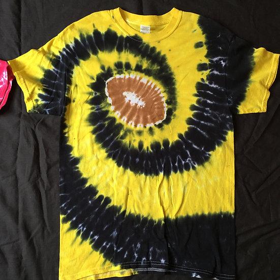 Medium Football Spiral Design