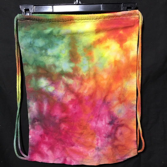 Ice Dyed Drawstring Backpack