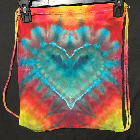 Heart Drawstring Backpack