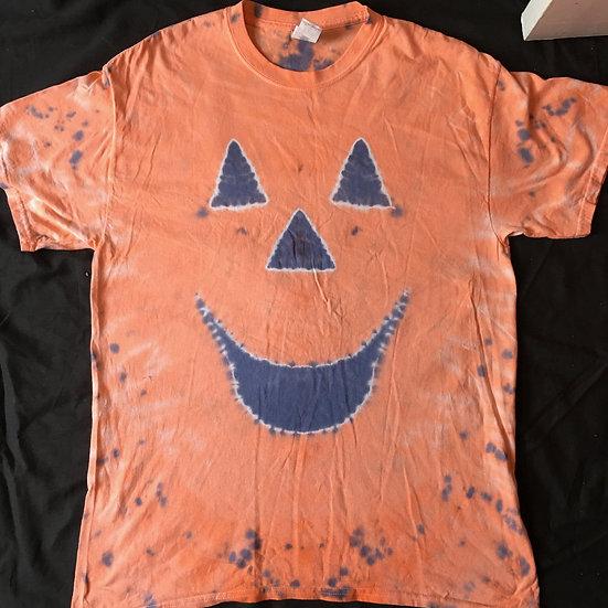 Large Tie Dye Pumpkin