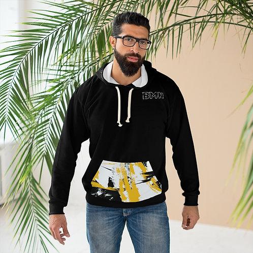 BMH Wild Print Pocket  - Unisex Pullover Hoodie