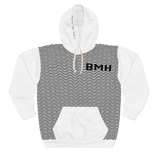 BMH Wavy - Unisex Pullover Hoodie