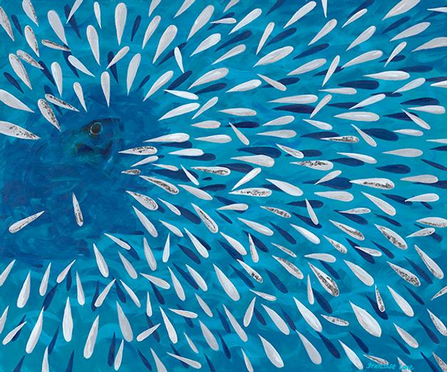 sardines francoise lane art