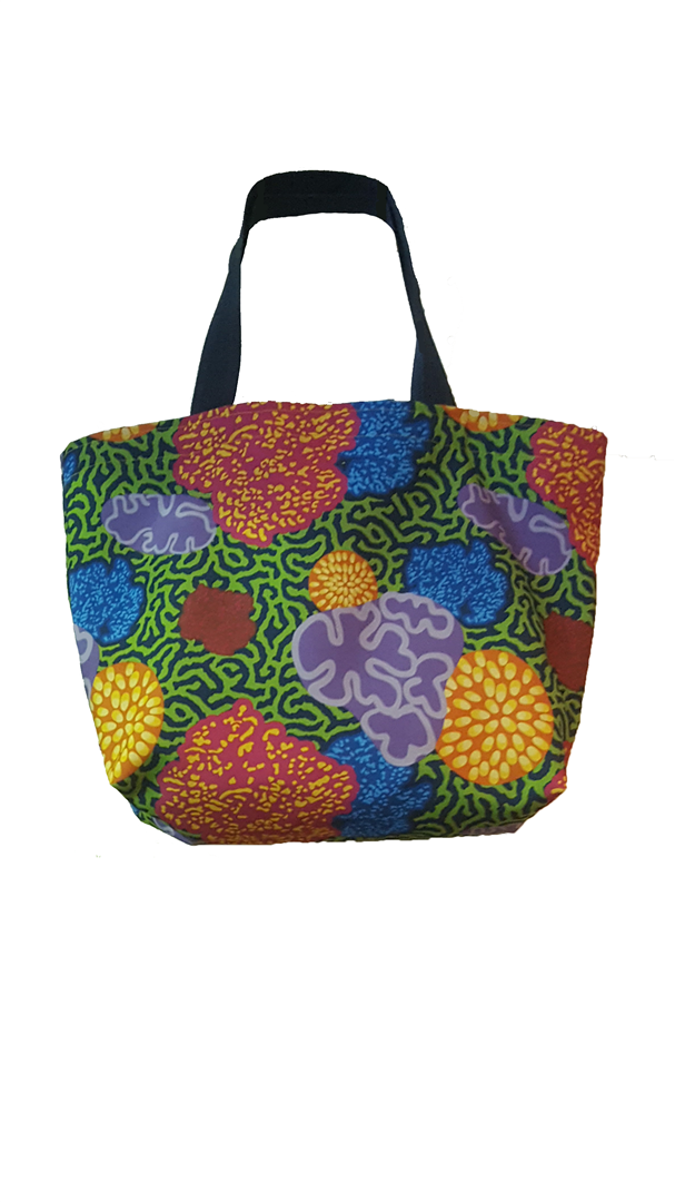 Flash Tote_Coral Floral (Large)