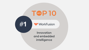 WORKFUSION Named No. 1 for Intelligence and Overall Innovation in Robotic Process Automation (RPA)