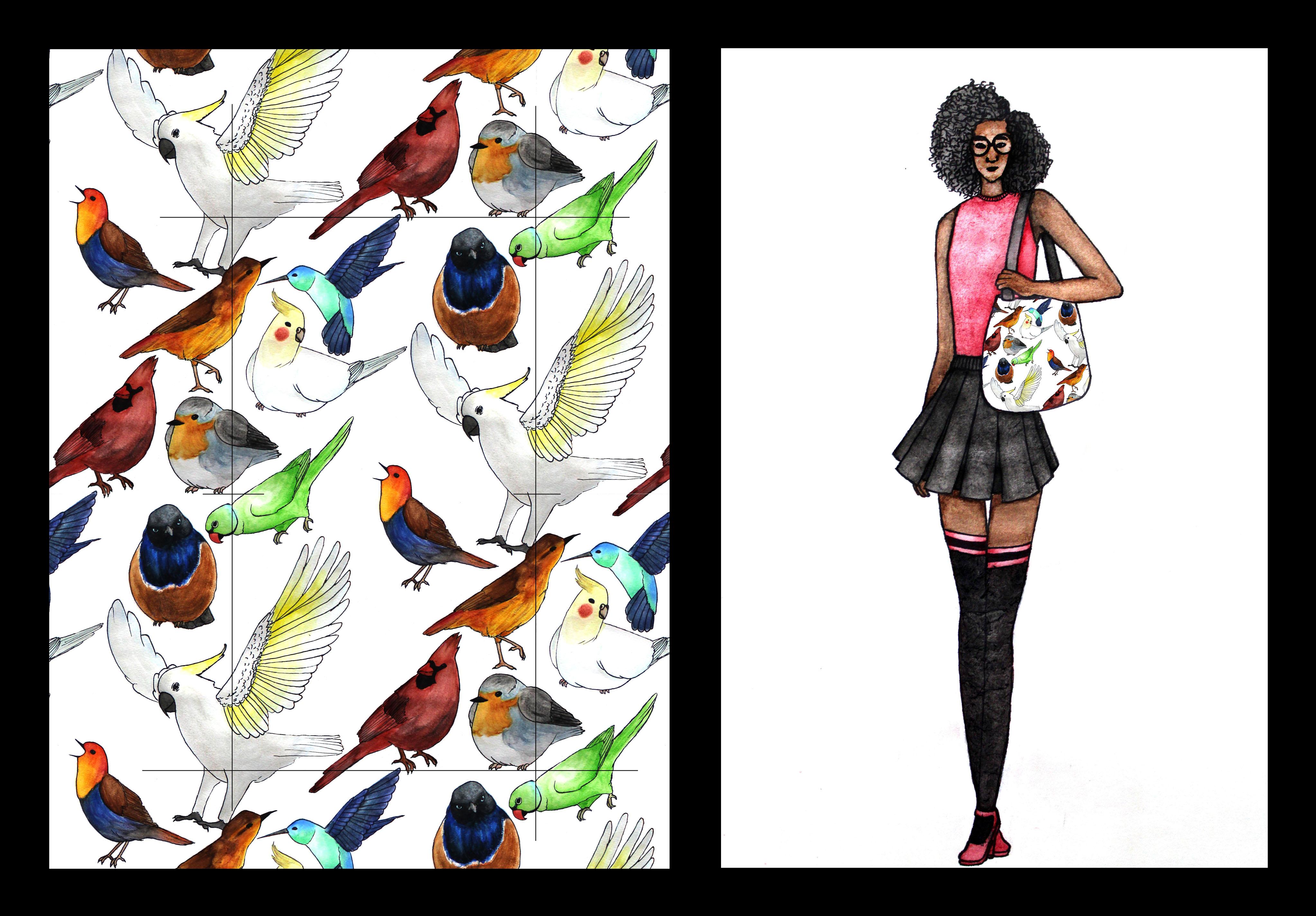 Bird Purse