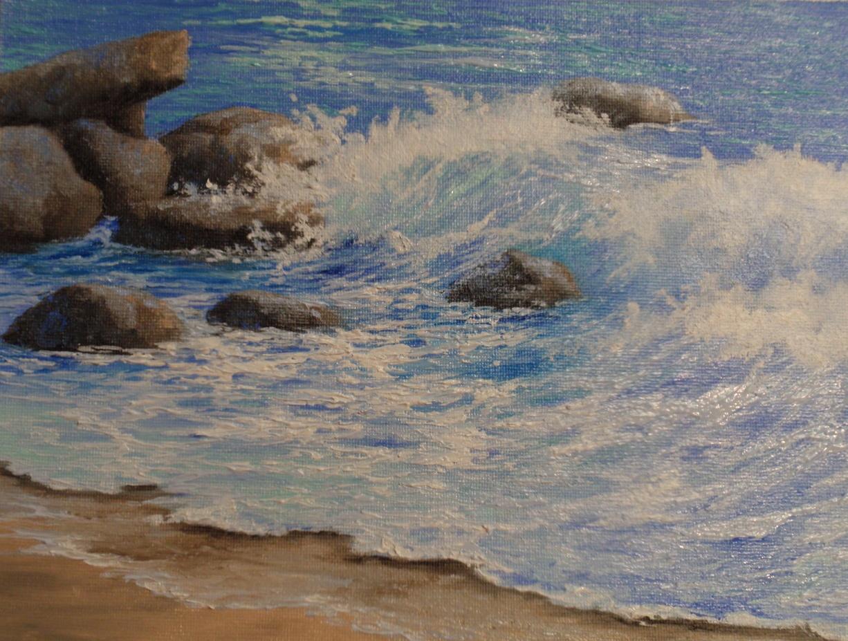 """""""California Seascape"""""""