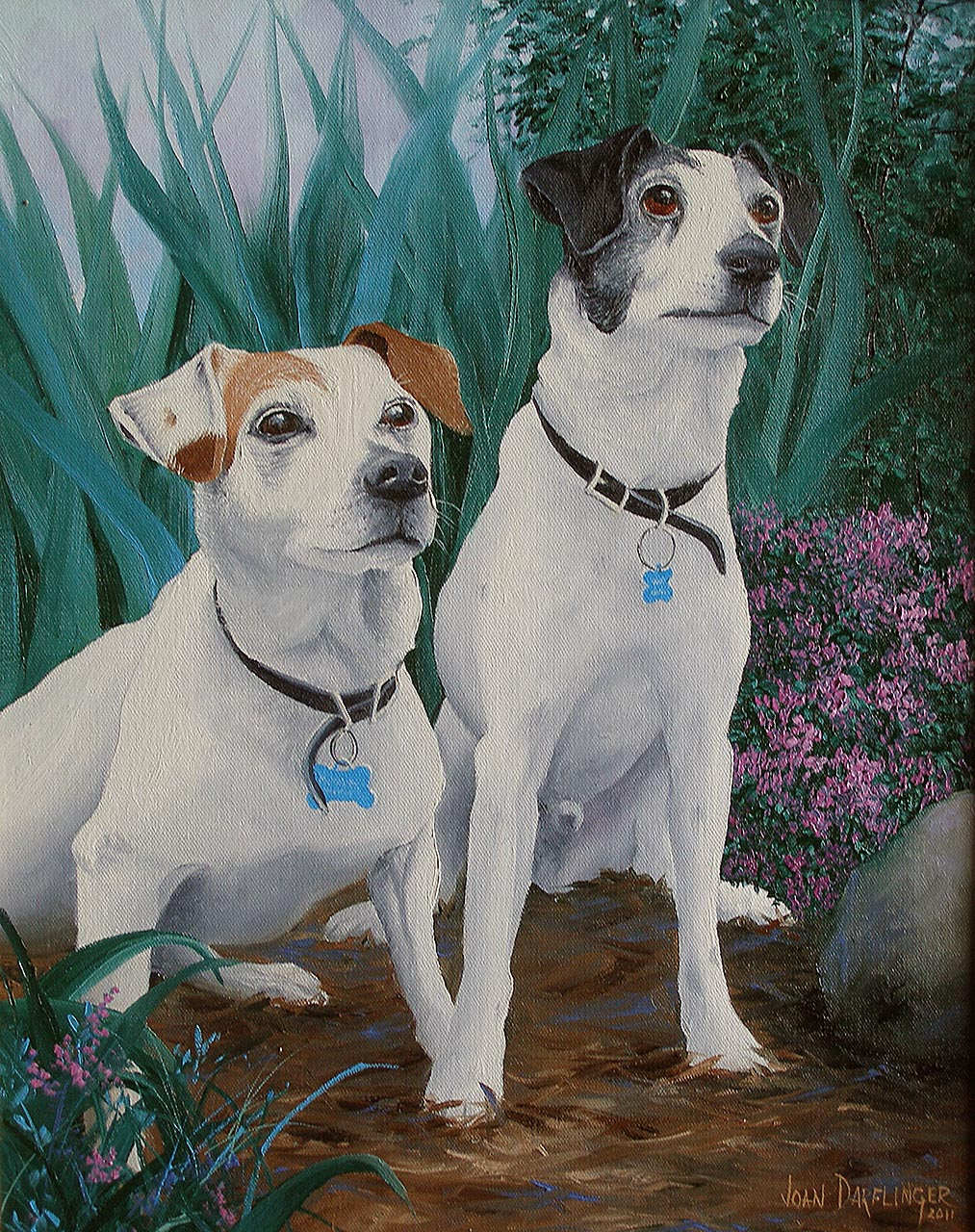"""Two Jack Russels"""