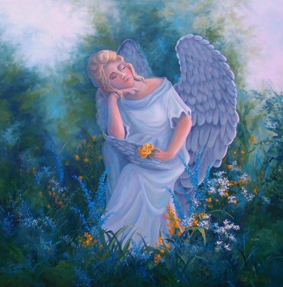 """Angel in My Garden"" 2"