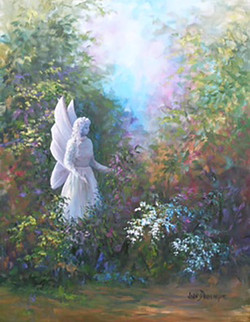 """Angel Statue in My Garden"""