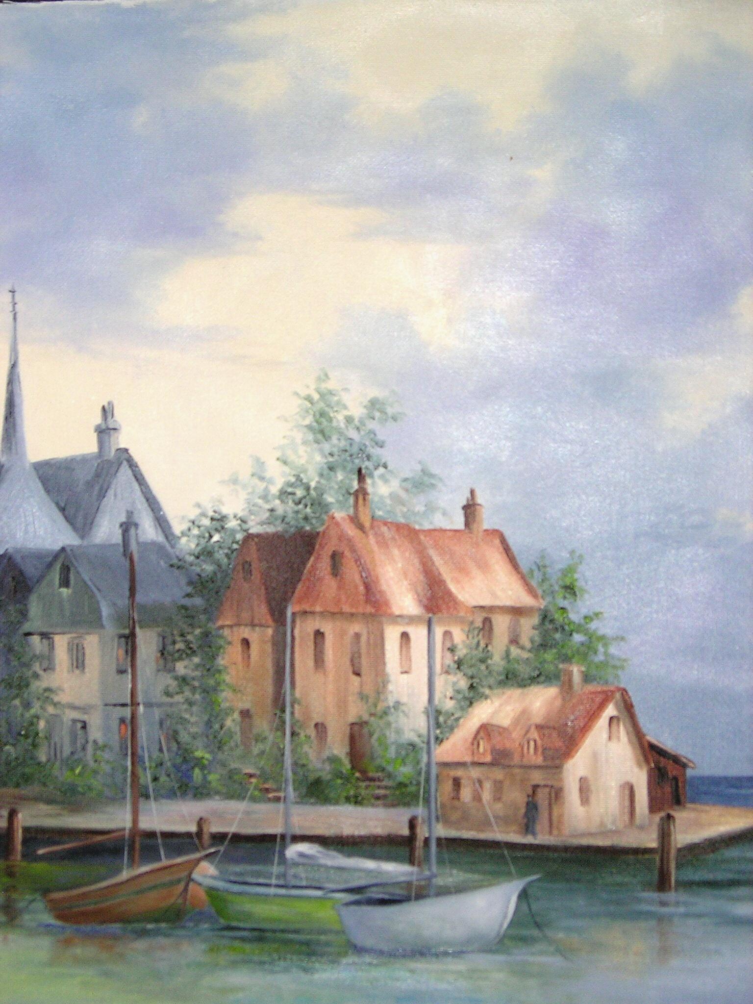 """Honfleur Harbor"""
