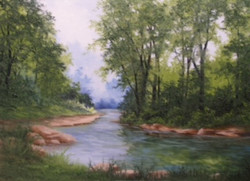 """Quiet Stream in Indiana"""