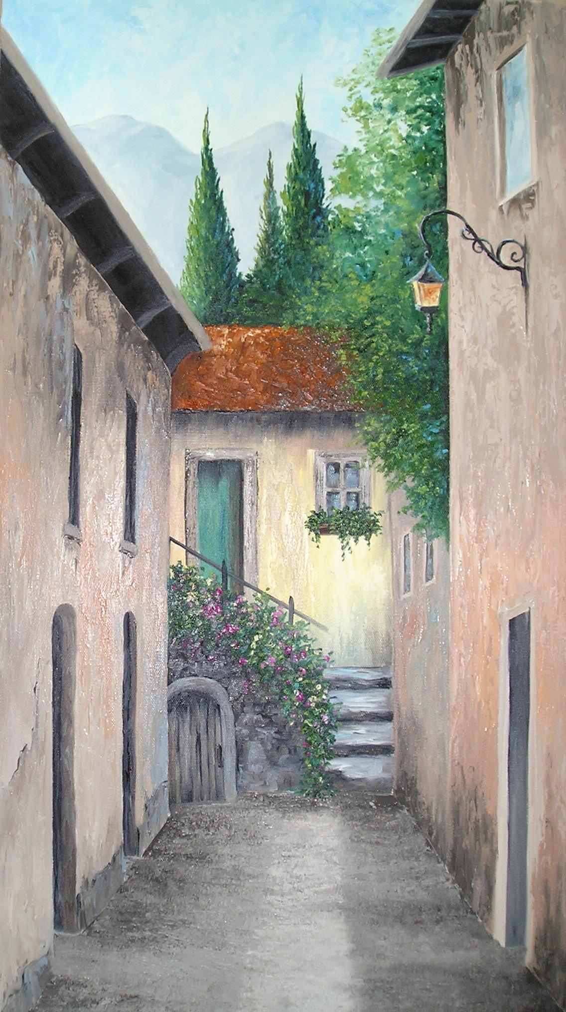 """Ancient Street in Castlemola"""