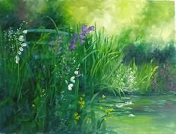 """A Bridge in Monet's Garden"""