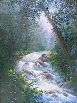 """Waterfall in Dahlonega, Georgia"""