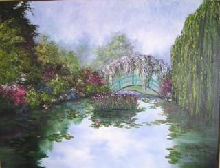 """Monet's Bridge, Giverny, France"""