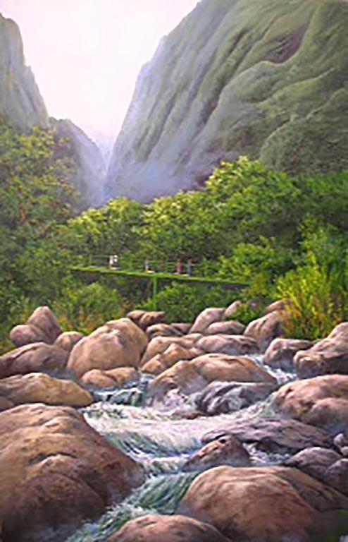 """""""Waterfall in Hawaii"""""""