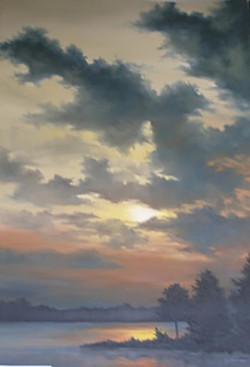 """Sunrise at Koontz Lake"""