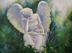 """Angel in My Garden"""