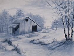 """""""Winter Barn Northern Georgia"""""""