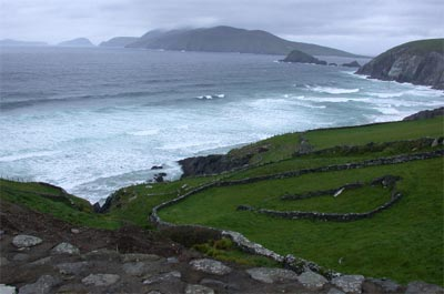 Beautiful view of Dingle Peninsula
