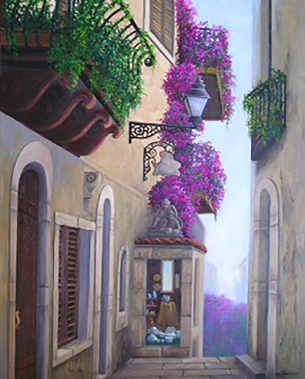 """Beautiful Walkway Taormina, Sicily"""