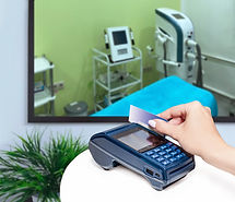 Clinic of aesthetic medicine. Payment by