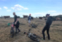 Teambuilding i Mols Bjerge. I er afsted på mountainbikes for at løse opgaverne. Udstyrede med kort og kompas får I en række unikke oplevelser sammen med SpencerHede