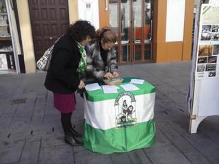 Primavera Andaluza saca a las calles de Rota el espíritu del 4 de Diciembre de 1977