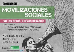 conferencia Rota Movilizaciones sociales
