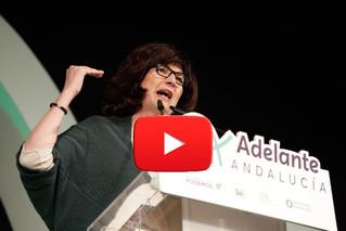 Intervenciones de los candidatos de Primavera Andaluza en la campaña electoral. Elecciones Andaluzas