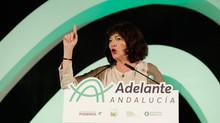 Pilar González, portavoz de Primavera Andaluza, senadora de Adelante Andalucía