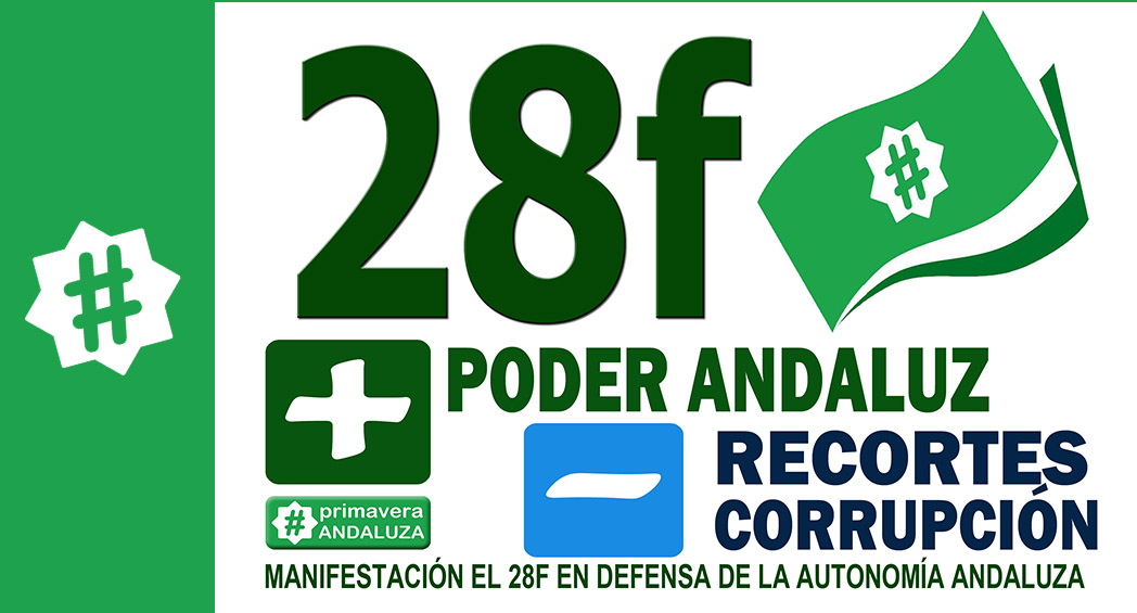 manifestacion 28F poder andaluz