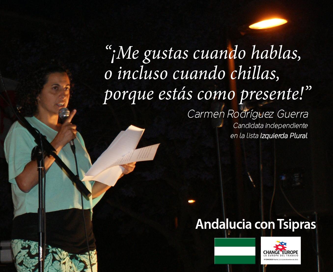 Carmen Rodriguez Guerra discurso